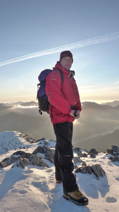 Iain Gallagher founder of Kendal Mountaineering Services